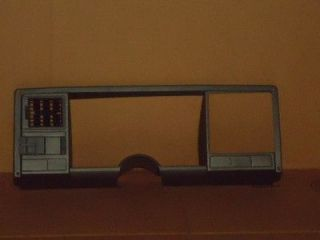 88 94 CHEVY GMC SILVERADO TRUCK 1500 DASH RADIO CLUSTER BEZEL TRIM