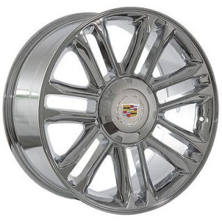 22 inch Cadillac Escalade platinum chrome wheels rims
