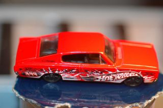 2004 Hot Wheels 67 Dodge Charger Demo Derby Car from Smashville 5