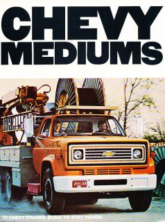 1977 Chevrolet Medium Duty Truck Original Dealer Sales Brochure