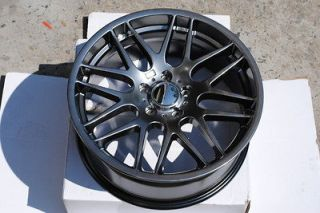 19 M3 CSL Style BMW Hyper Black Wheels Rims E36 E46 E90 E92 E93 M3