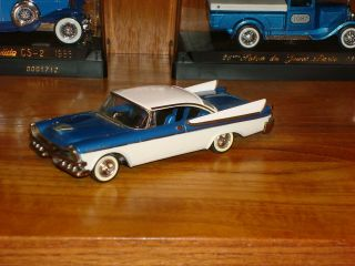1957 DODGE CUSTOM ROYAL BY WESTERN 1/43 N BROOKLIN N MOTOR CITY