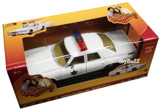 JOHNNY LIGHTNING 1:18 DODGE MONACO DUKES OF HAZZARD GENERAL LEE ROSCO