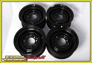 Ford Econoline Van 16 Steel Wheel 8 Lug Black OEM NEW Set of 4