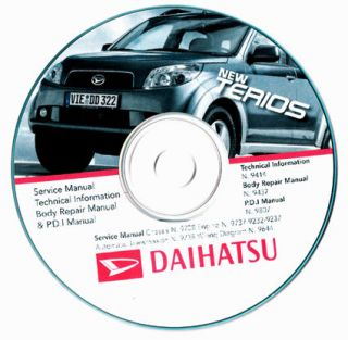 Daihatsu NEW TERIOS manuale officina   workshop manual