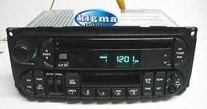 Chrysler Dodge 1999 2002 CD Cassette player radio INFINITY sys 7x7