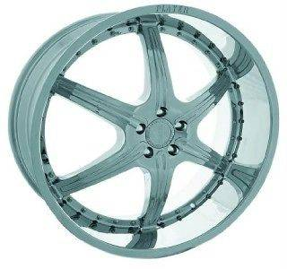 24 INCH RIMS AND TIRES PACKAGE WHEELS CHROME PLAYER 814