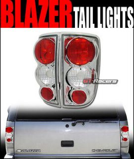 TAILLIGHTS TAILLAMP PAIR 95 04 CHEVY S10 BLAZER GMC S15 JIMMY ENVOY