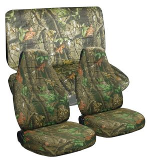 Jeep wrangler TJ camo tree front+rear car seat covers,OTHER COLORS