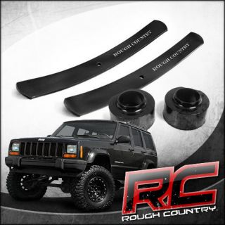 XJ Lift Kit, Coil Spacers and Add A Leaf (Fits Jeep Cherokee