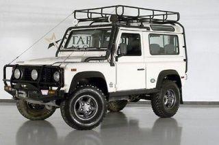Land Rover  Defender D90 2 Door W Original Camel Safari Guard pkg