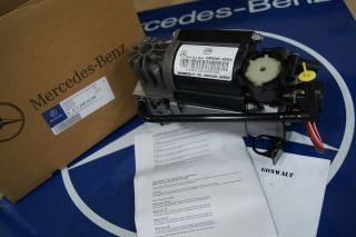 Mercedes Benz Airmatic Suspension Compressor W220 W211 W220 S E CLS
