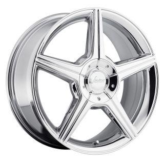 15 inch Vision Autobahn chrome wheels rims 5x115 +38 aurora intrigue