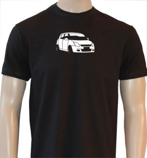 SUZUKI SWIFT MENS RETRO CLASSIC CAR T SHIRT CA215