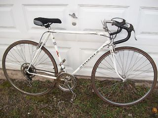 VINTAGE 1970s PEUGEOT french road bike CADRE ALLEGE w/simplex