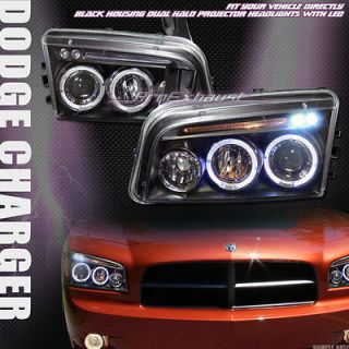 HEAD LIGHTS LAMP SIGNAL 05/06 10 DODGE CHARGER (Fits Dodge Charger