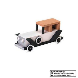 Vintage Limousine Wood Model Car Auto Kit Limo company Driver Car Buff