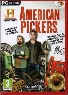 AMERICAN PICKERS ~ THE ROAD LESS TRAVELED Hidden Object PC Game NEW