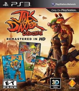 & AND DAXTER TRILOGY 1+2+3 HD COLLECTION PS3 GAME BRAND NEW & SEALED