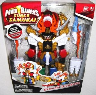 Sentai Shinkenger Power Rangers Samurai DX Shinken Oh Megazord Figure