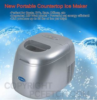 New Portable Countertop Ice Cube Maker Machine   Boat Office RV   180