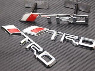 logo Chrome Metal 3D Grill badge grille emblem Toyota Tacoma Tundra FJ