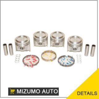 87 94 Toyota Tercel 1.5L SOHC 3E 3EE Piston Ring Set