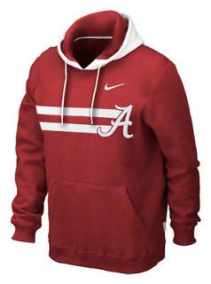 Nike Alabama Crimson Tide Football Sideline Bump N Run Hoody Large L