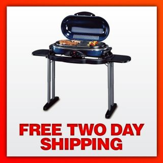 SEALED Coleman 9941 768 Road Trip Collapsible Propane Grill LX (Blue