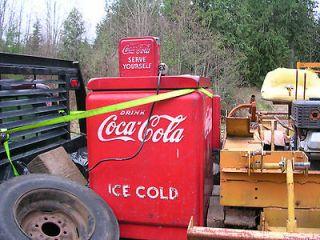 Vintage Vendo Coke Machine Coca Cola 1940s era ?