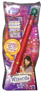DISNEY WIZARDS of WAVERLY PLACE Magical Lights & Sounds Wand New