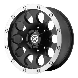 16x8 American Racing ATX Slot Black Wheel/Rim(s) 8x170 8 170 16 8