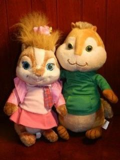 Build A Bear BRITTANY Theodore ALVIN AND THE CHIPMUNKS Plush Stuffed