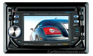 BOSS BV9155B CAR 2 DOUBLE DIN DVD/CD/iPOD PLAYER TOUCHSCREEN MONITOR
