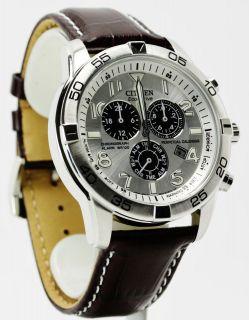 Citizen Eco Drive Alarm Chronograph Perpetual Mens Watch BL5470 06A