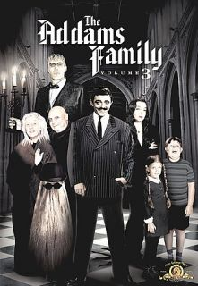 The Addams Family   Volume 3 DVD, 2009, 6 Disc Set