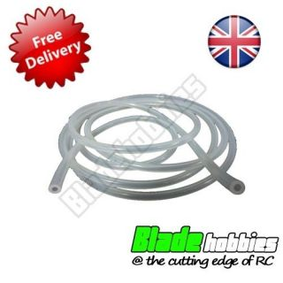 RC Silicone Clear Fuel Line Pipe Hose Tube Nitro Car Plane Boat Water