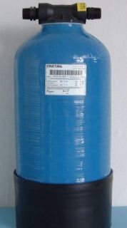 Resin Vessel 717, 8 L Empty or Filled for Window Cleaning, Bio Filter