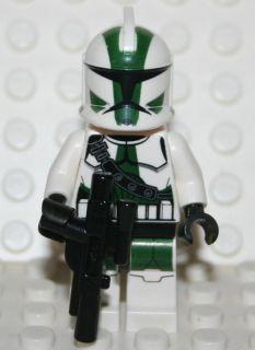 STAR WARS LEGO MINI FIGURE CLONE COMMANDER GREE NEW MINIFIGURE MINIFIG