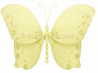 TWINKLE BUTTERFLY DECORATION wall ceiling room baby shower decor