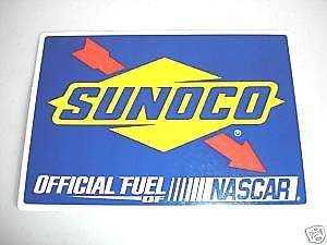 SUNOCO Official Fuel of NASCAR Racing Sticker Decal