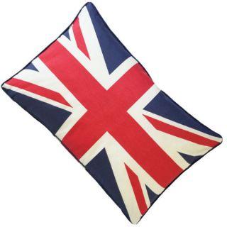 50cm x 30cm TBBS10 The Union Jack British Flag Canvas Cushion Cover