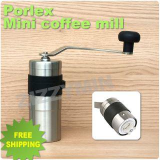 porlex stainless steel ceramic mini hand coffee grinder