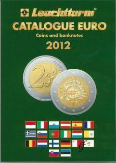 EURO COMMEMORATIVE COINS & BANKNOTE PRICE GUIDE CATALOGUE 2012 EDITION
