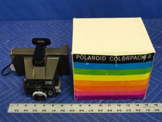 Vintage Polaroid Colorpack II Instant Camera C63