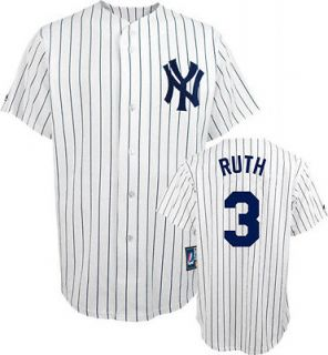 BABE RUTH YANKEES COOPERSTOWN SEWN REPLICA JERSEY XL