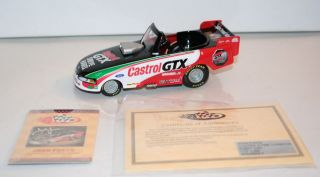 NHRA JOHN FORCE CASROL GX PEDDLE CAR COLLECIBLE By ACION NIB