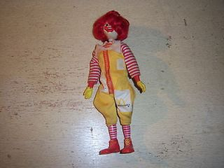 Ronald McDonald Doll 8 Plastic Figurine McDonalds Burger King