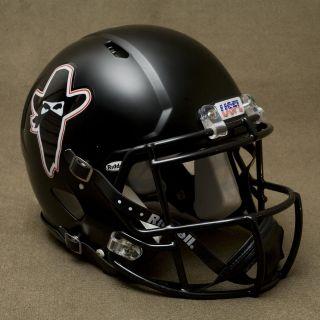 2013 Riddell Revolution SPEED Football Helmet (MATTE/FLAT BLACK
