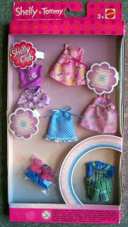 BARBIE KELLY SHELLY TOMMY DOLL CLOTHES SHOES ACCESSORIES MAKE UP